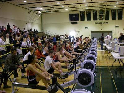 Berkeley High Crew - Peninsula Indoor Rowing Championships